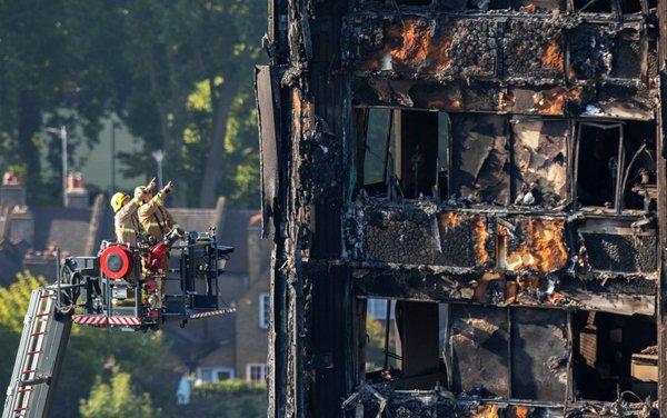 Požar v Londonu