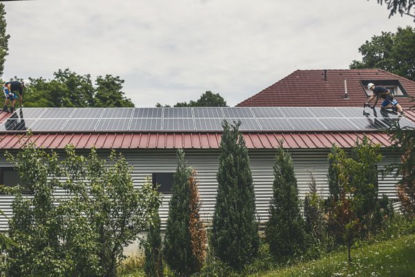Montaža sončne elektrarne 9