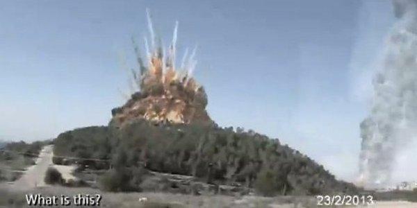 Apokaliptičen video iranskega jedrskega napada na Izrael