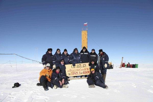 Jezero Vostok