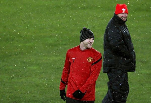 Wayne Rooney in Sir Alex Ferguson