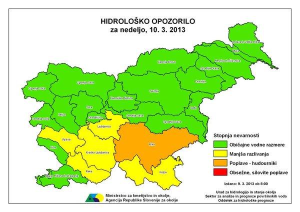 Hidrološko opozorilo