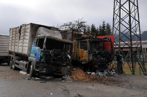 Zgorela tovornjaka - 3