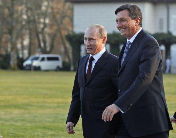 Putin in Pahor