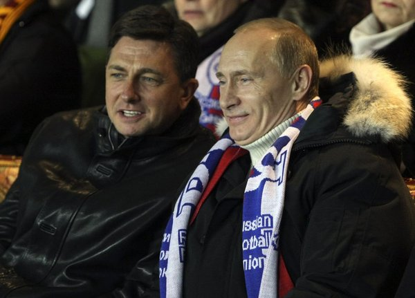 Pahor in Putin