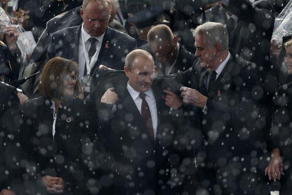 Putin v Srbiji