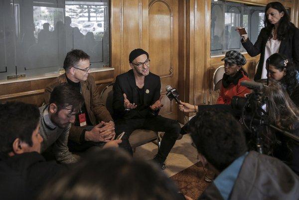 Gostovanje ljubljanske Drame v Bogoti s Faustom v režiji Tomaža Pandurja - 2