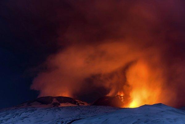 Vulkan Etna - 6