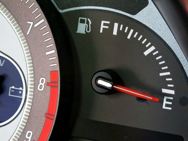 Prazen tank za gorivo