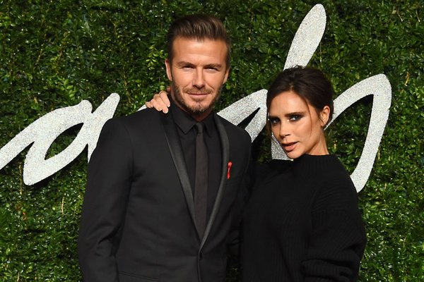Victoria in David Beckham