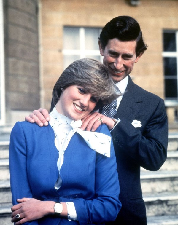 Princesa Diana in princ Charles