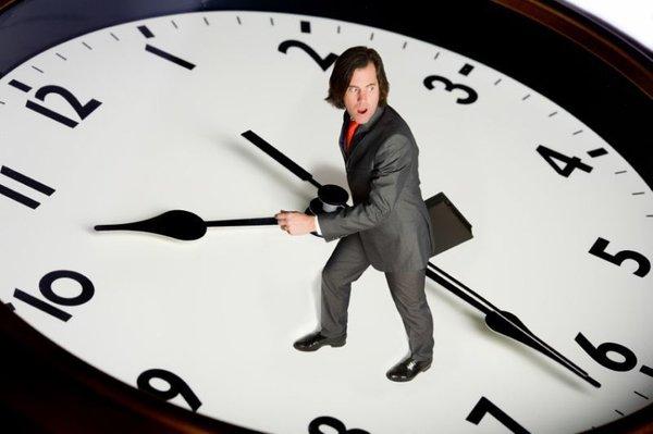 Poslovnež v borbi s časom