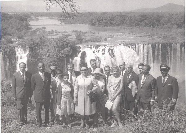 Tito in Jovanka v Etiopiji