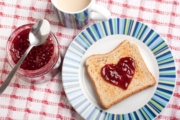 Toast z marmelado