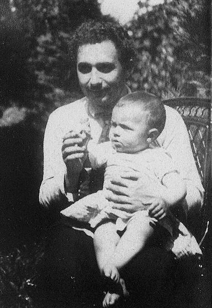 Albert Einstein s sinom Hansom