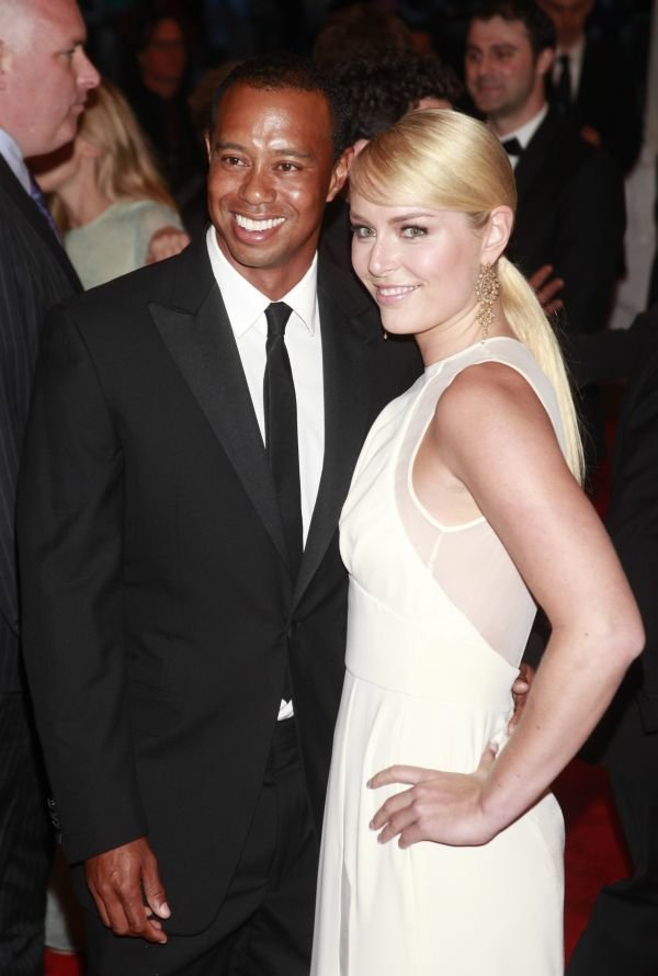 Tiger Woods in Lindsey Vonn - 1