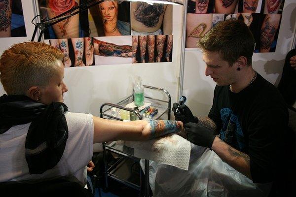 Dejan Marič na 3. tattoo konvenciji v Ljubljani - 10