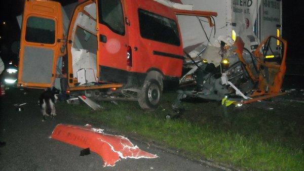 Nesreča na štajerski avtocesti na počivališču Zima - 2