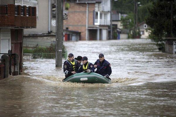 Poplave v Zenici - 1