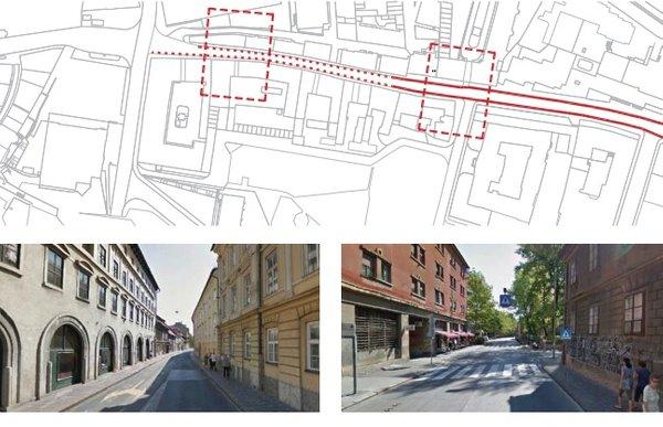 Predlagana ureditev Poljanske ceste