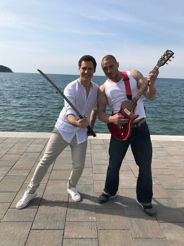 Dejan Vunjak in Denis Porčič Chorchyp - 1