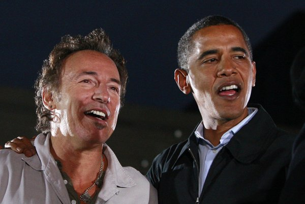 Springsteen in Obama