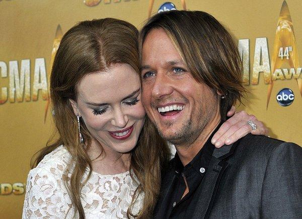 Nicole Kidman in Keith Urban na podelitvi CMA