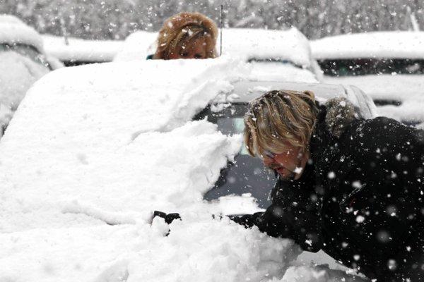 Prvi sneg v Ljubljani - 18