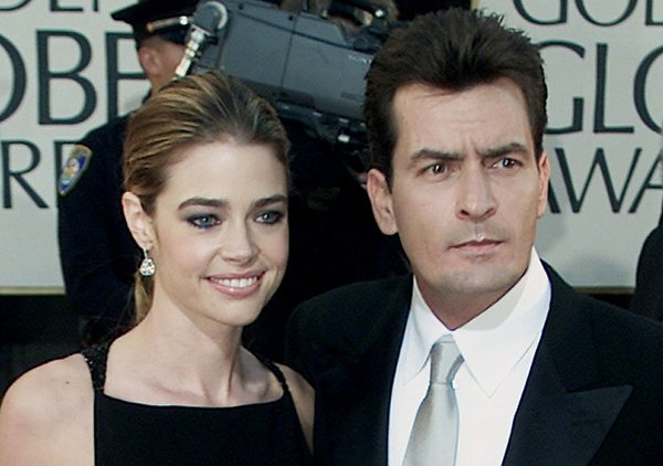Denise Richards in Charlie Sheen