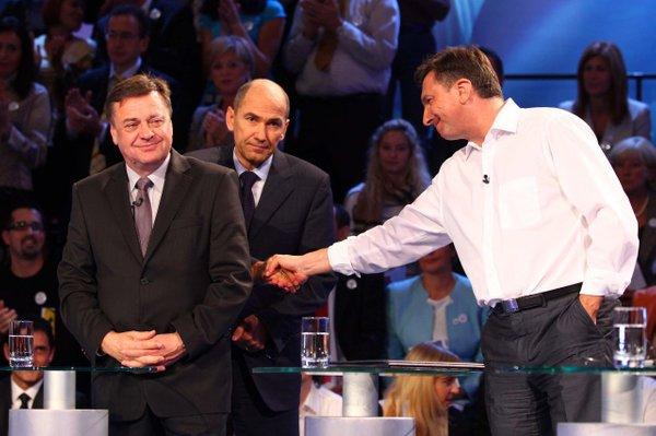 Janković, Janša in Pahor