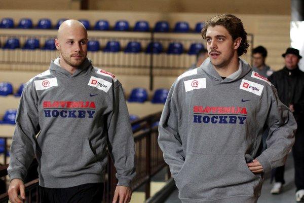 Anže Kopitar in Jan Muršak