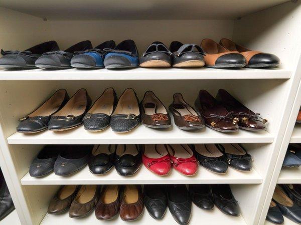 Pospravljeni čevlji