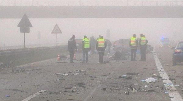 Prometna nesreča na avtocesti v Nemčiji