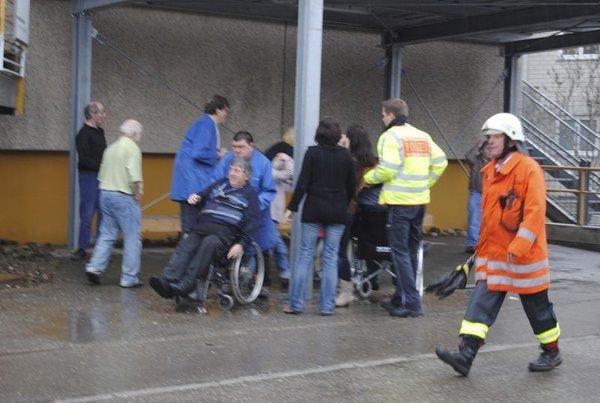 Požar v delavnici za invalide - 1
