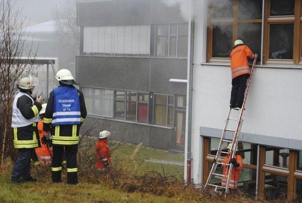 Požar v delavnici za invalide - 2