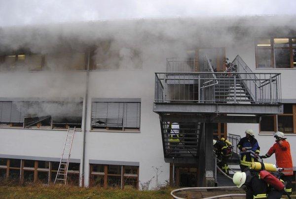 Požar v delavnici za invalide - 3