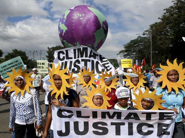 Podnebni protesti v Manili