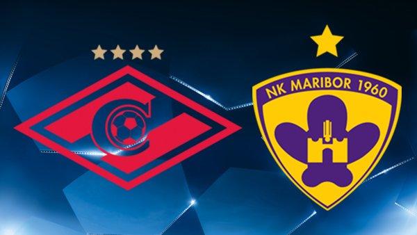 Spartak Moskva vs Maribor