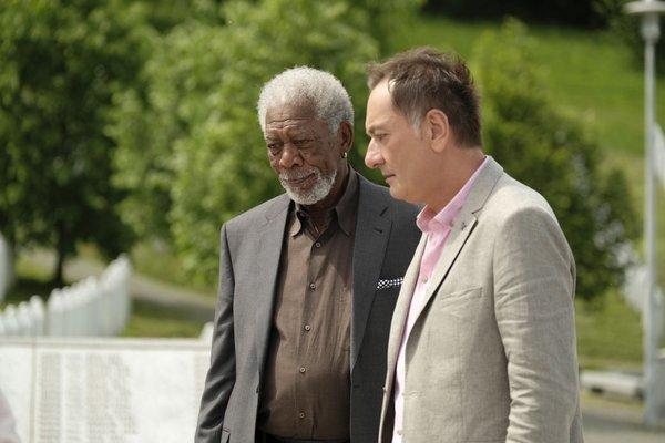 Senad Hadžifejzović in Morgan Freeman