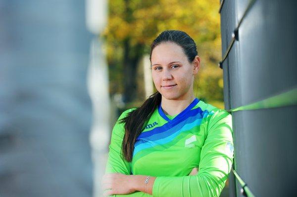 Maja Bedrač, mladi up, atletika