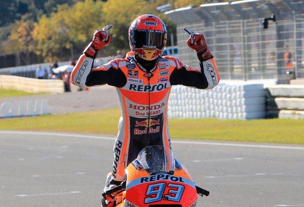 Marc Marquez svetovni prvak motoGP v sezoni 2017 - 2