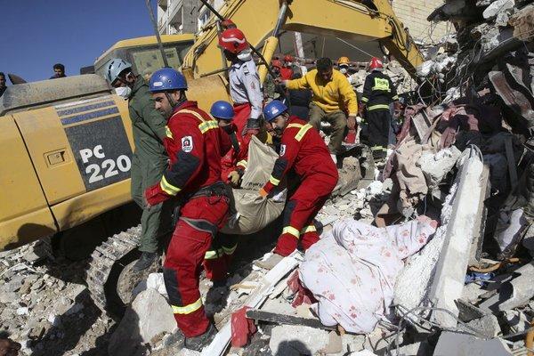 Potres v Iranu