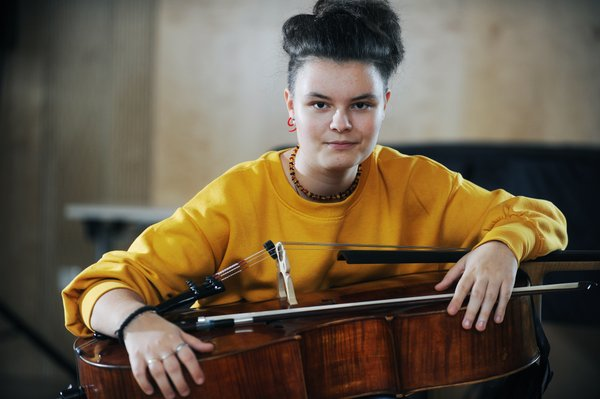Sara Čano, mladi up, violončelo
