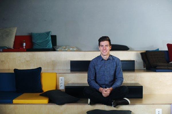 Larsen Cundrič, mladi up, znanost, naravoslovje, robotika, podjetništvo