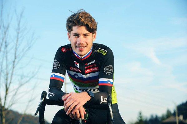Nik Čemažar, mladi up, kolesarstvo