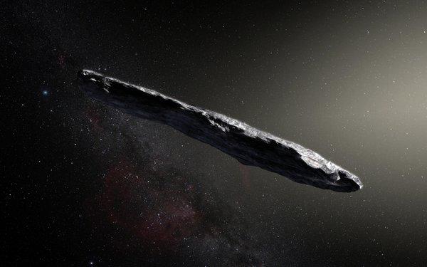 Asteroid `Oumuamua
