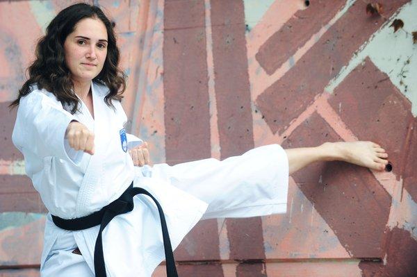Maša Simonič, mladi up, karate