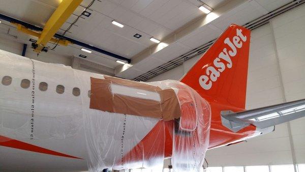 Preregistriranje easyJetovih letal - 2