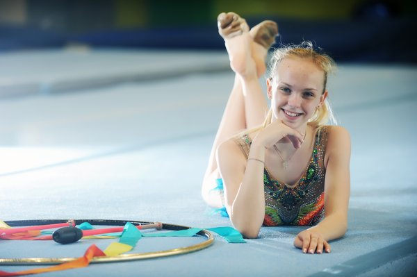 Aleksandra Podgoršek, mladi up, ritmična gimnastika