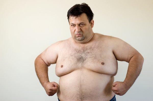 moške prsi